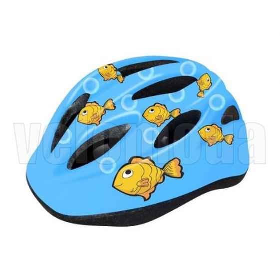 Шлем велосипедный детский Cigna WT-021 (Рыбки)