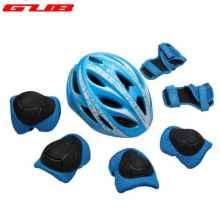 Комплект детский: шлем + защита суставов GUB Star (Синий)