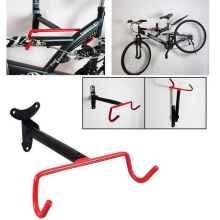 Крепление для велосипеда HX-Y784 на стену за раму (Черный/красный)