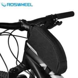 Велосумка с держателем для телефона на раму RockBros RB-021 (красная)