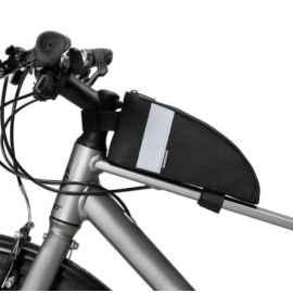 Велосумка на раму RockBros B60 (черный карбон)