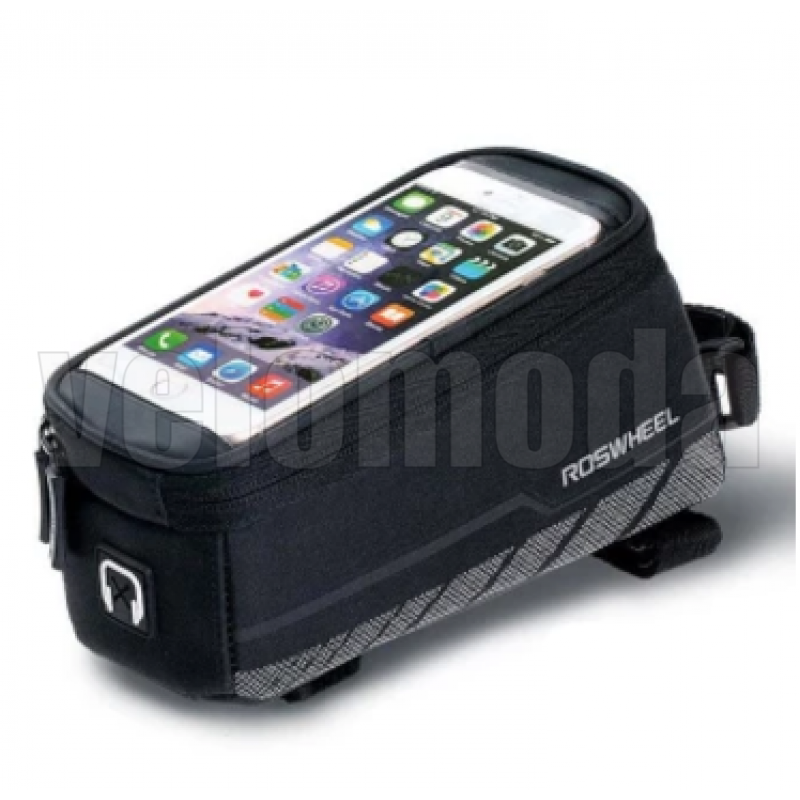 "Велосумка Roswheel 12496 для телефона до 5,5"" на раму"