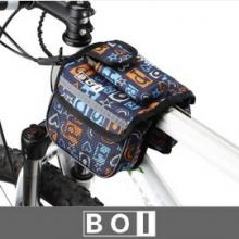 Велосумка на раму двойная Boi (синяя)