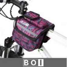 Велосумка на раму двойная Boi (фиолетовая)