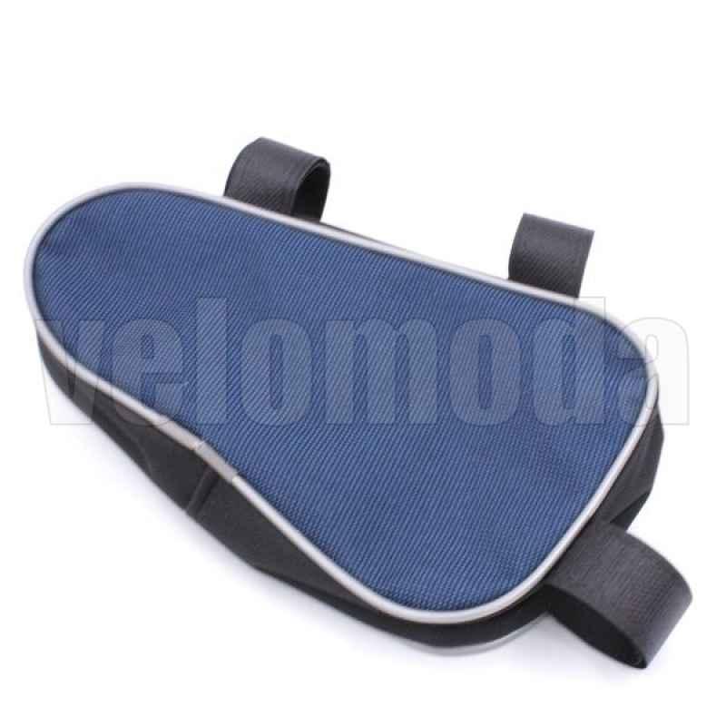 Велосумка под раму Course треугольник малая (синяя)