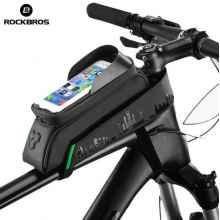 Велосумка с держателем для телефона на раму RockBros RB-029 (до 5,8 дюймов)