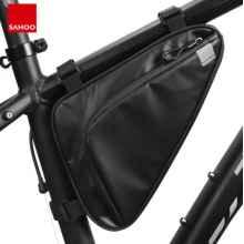 Велосумка под раму Sahoo 122065 треугольник 1,5L (Чёрная)