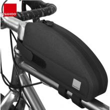 Велосумка на раму Sahoo 122032 спортивная, аэродинамическая 1L (Чёрная)
