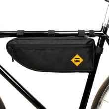 Велосумка под раму B-Soul треугольник 40x13.5x5.5cm (Чёрная)