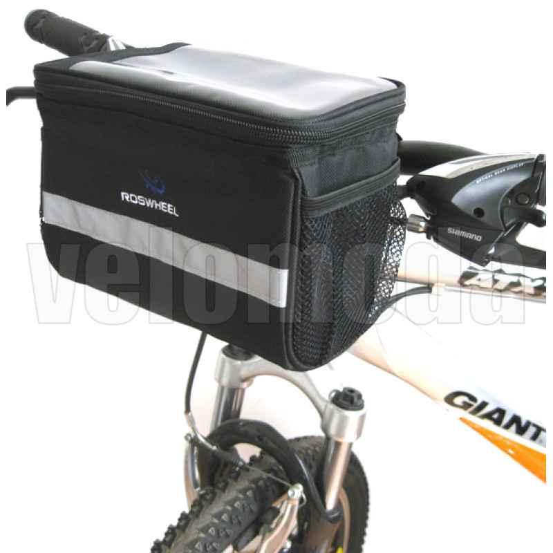 Сумка на руль велосипеда Roswheel 11002 с карманом для планшета