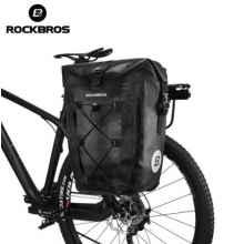 Сумка на багажник 20л Rockbros AS-002 водонепроницаемая (черная, 1шт)