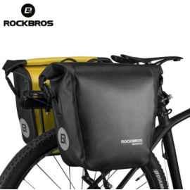 Велосумка на багажник Roswheel Быстросъемная  (черная)