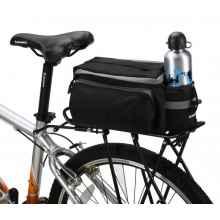 Велосумка на багажник Roswheel 14024 быстросъемная (черная)