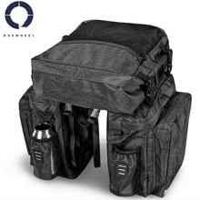 Велосумка на багажник Roswheel 141476 3в1 40л (Серая)