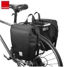Велосумка на багажник Sahoo 142088 20л (Чёрная)