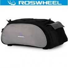 Велосумка на багажник 14л Roswheel 14541-A (чёрно-серая)