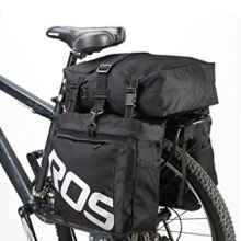 Велосумка штаны на багажник Roswheel 14892 3в1 35л  (черная)