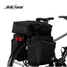 Велосумка штаны на багажник Roswheel 14892-A-SA 37л 3в1 (черная)