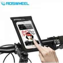 """Универсальный чехол для телефона до 6"""" с креплением на руль Roswheel 111362"""