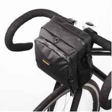 Сумка на руль велосипеда RHINOWALK T92 водонепроницаемая (Чёрная)
