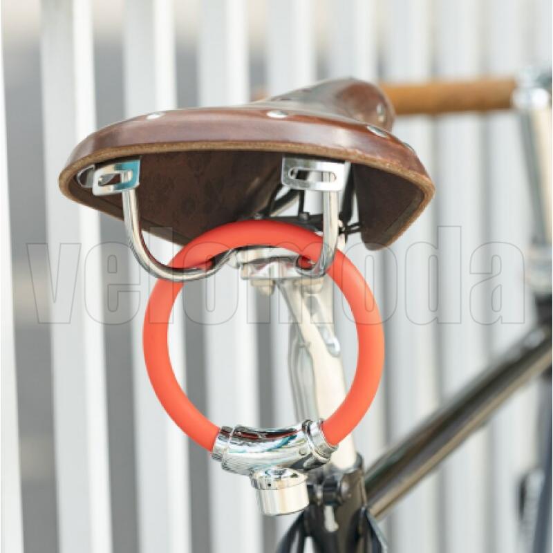 Велозамок мини с ключом Rockbros A1CBK (Чёрный)