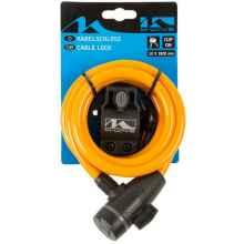 Велозамок M-Wave 233866 10*1800 мм (Оранжевый)