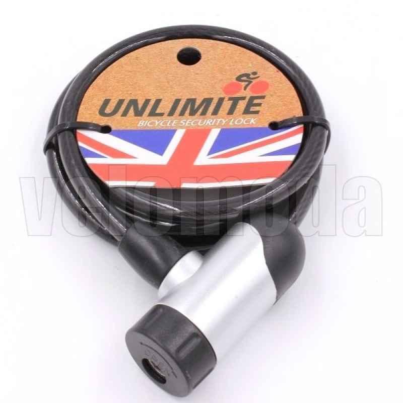 Велозамок Unlimite 102.114 автоматический 8*1800mm