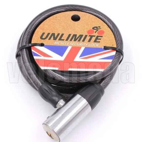 Велозамок Unlimite 102.503 автоматический 12*1500mm
