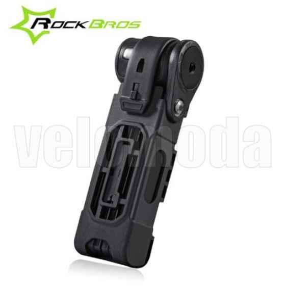 Велозамок Rockbros T612 противокражный (складной)