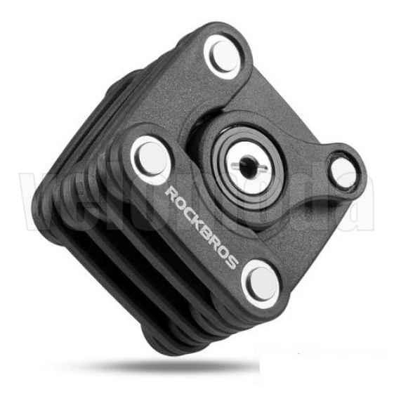 Велозамок Rockbros WD795 (кубик)