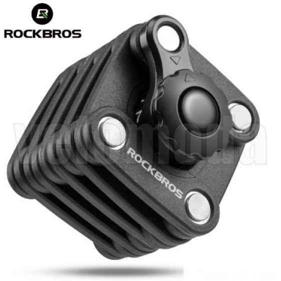 Велозамок Rockbros WL790 кодовый (кубик)
