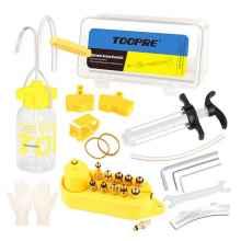 Комплект для прокачки гидравлических тормозов Toopre, металл коннекторы