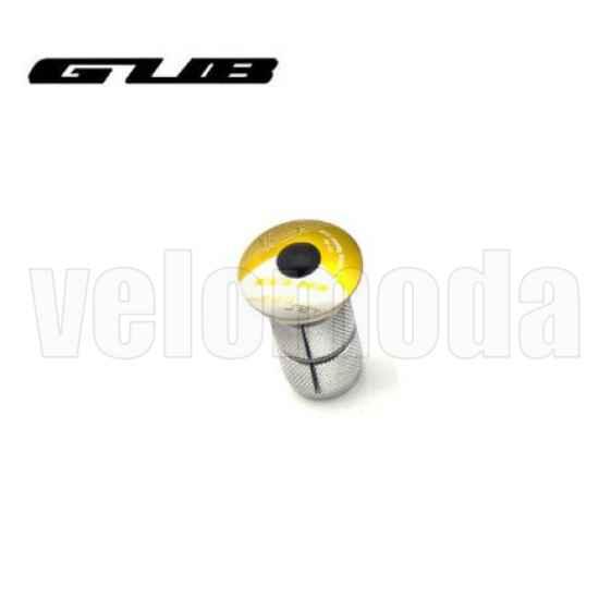 Крышка рулевой колонки (выноса) GUB CT-28 с болтом и якорем (золото)