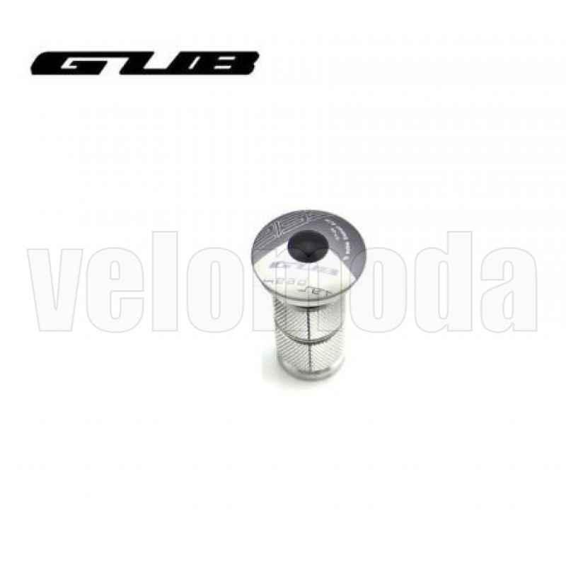 Крышка рулевой колонки (выноса) GUB CT-28 с болтом и якорем (титан)