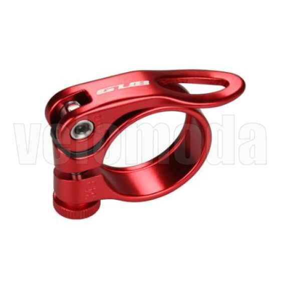 Подседельный хомут, зажим GUB CX-49 34.9mm (красный)