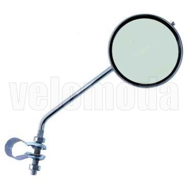 Зеркало заднего вида для велосипеда, D=70 мм, плоское