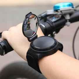 Зеркало для велосипеда M-WAVE SPY 75*50 мм крепление в руль