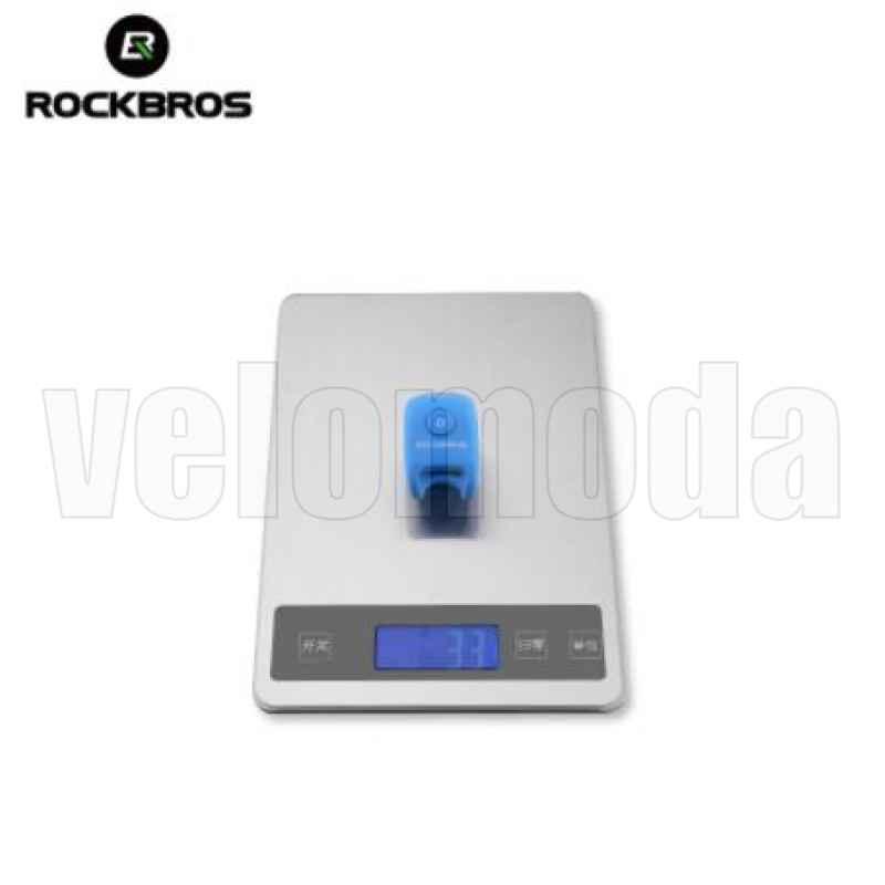 Велозвонок электрический Rockbros CB1709 3 мелодии (фиолетовый)