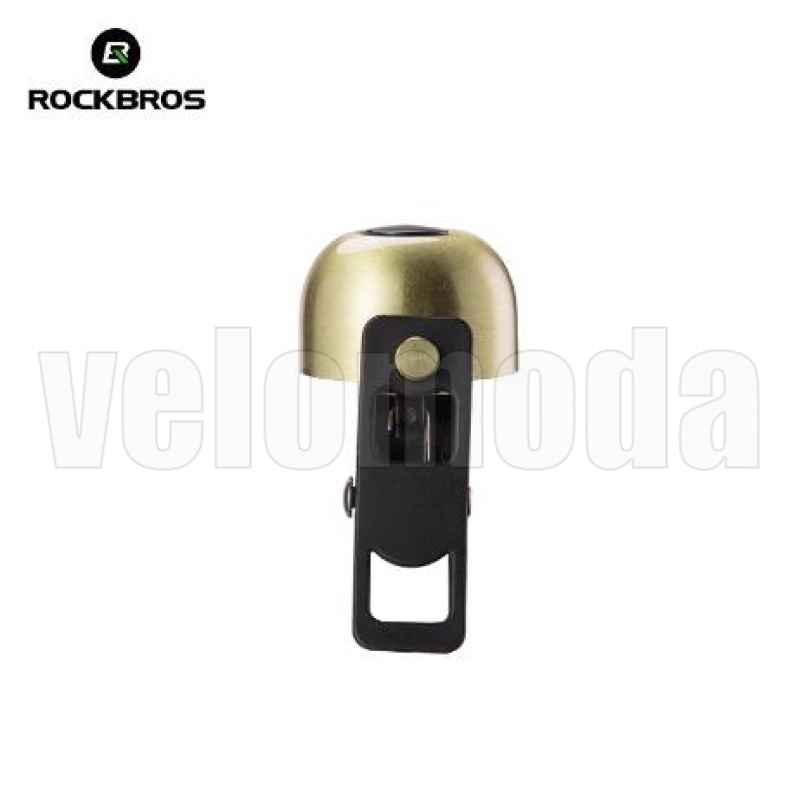 Велозвонок ударный Rockbros 2018-1A медный (Золото)