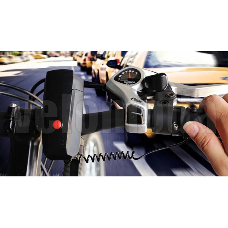 Велозвонок электронный Raypal F3 120 dB (Чёрный)
