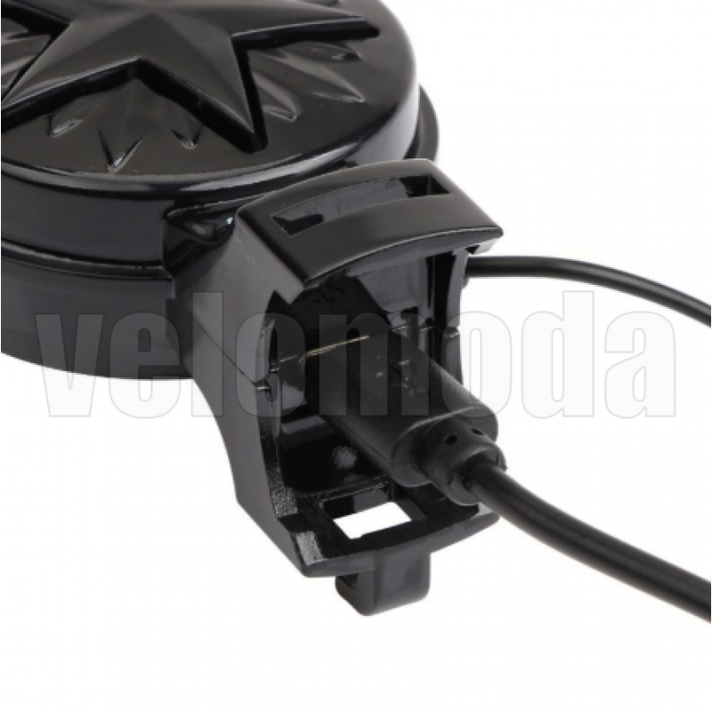 Велозвонок электронный Gub Q-200 120 dB (Чёрный)