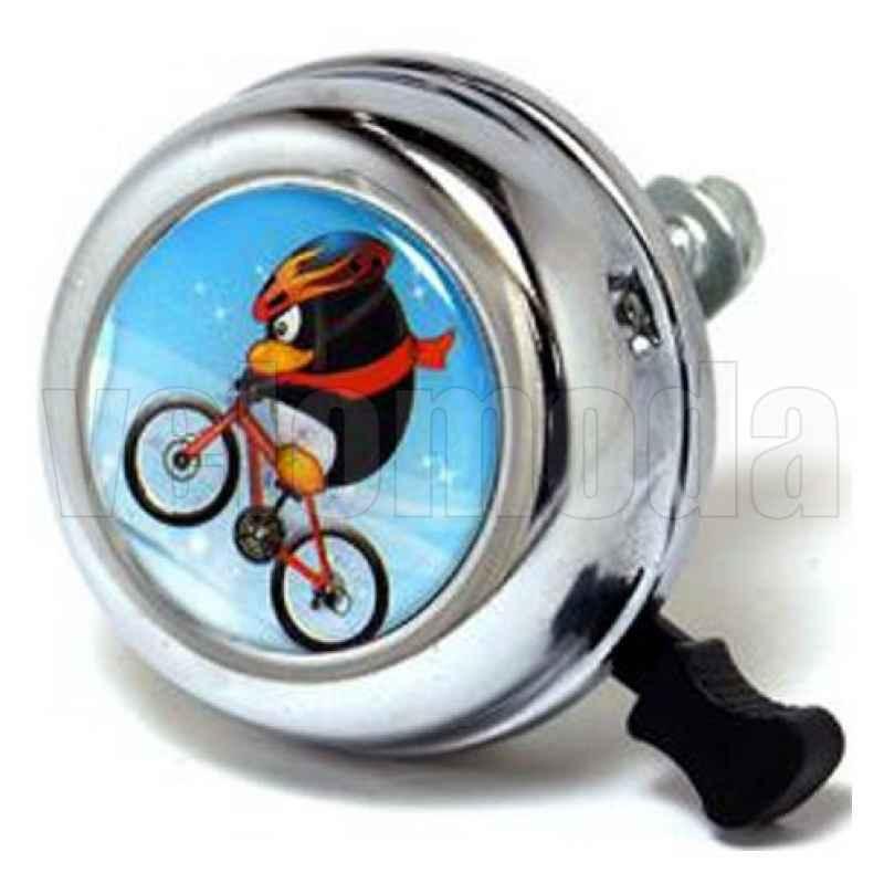 Звонок для велосипеда 54BF-05 стальной (Пингвин)