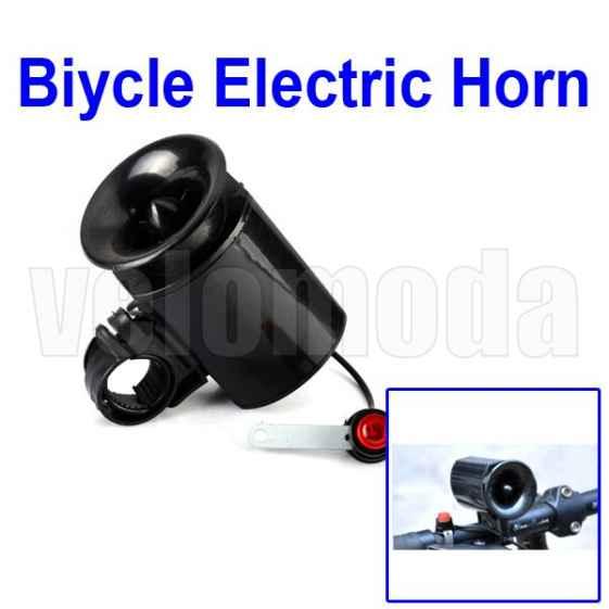 Велосипедный гудок электрический Black XL
