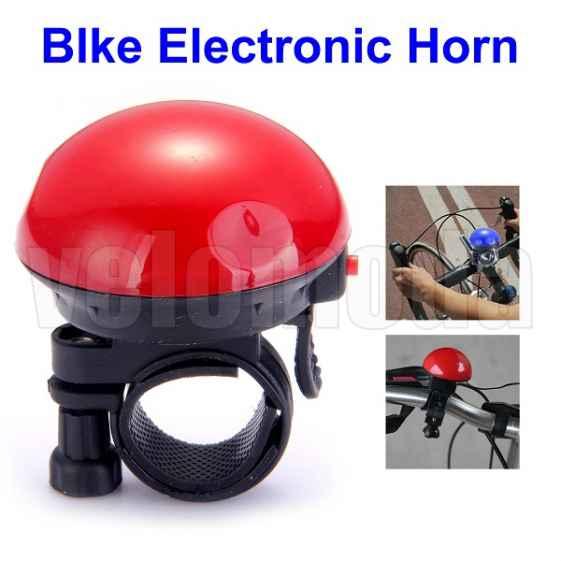 Велозвонок электрический UFO (красный)