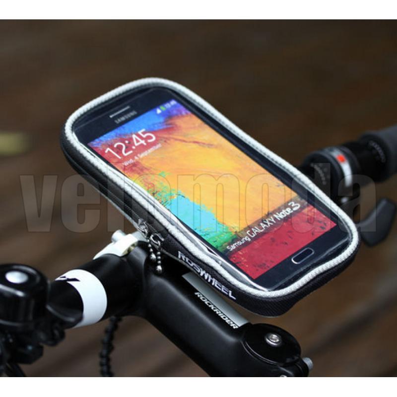 Велосипедный держатель для телефона на руль 11363 (черный)