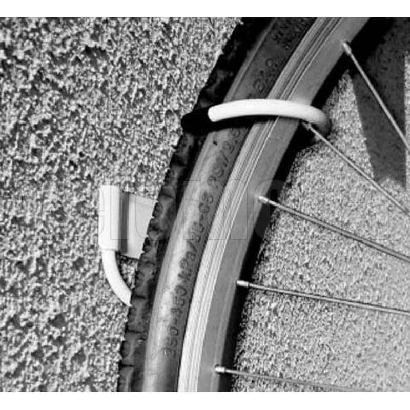 Держатель для велосипеда настенный, горизонтальный стальной