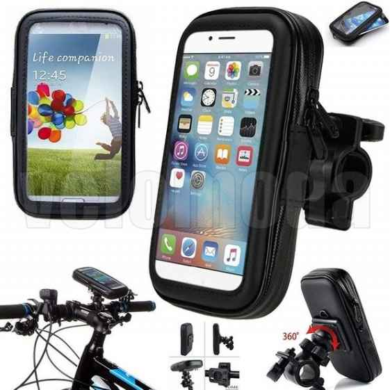 Велосипедный держатель для телефона на руль ROHS (150*78MM)
