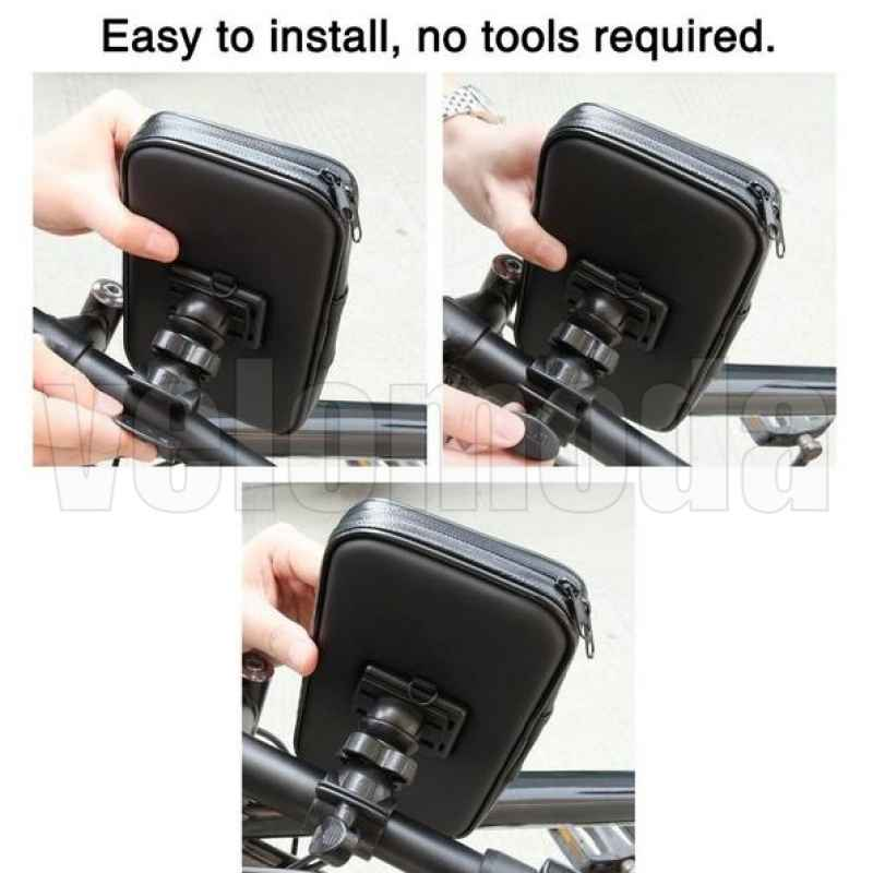 Велосипедный держатель для телефона на руль ROHS (135*70MM)