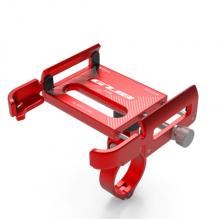 Держатель для телефона GUB P30 поворотный алюминиевый (Красный)