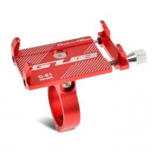 Держатель для телефона GUB G-81 (55-100 мм) (Красный)